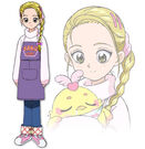 Pretty Cure Max Heart Movie2 Hikari profile