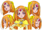 Suite Pretty Cure Cure Muse pose2