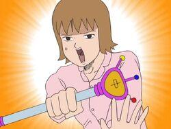 Gag Manga Biyori Hokkaido Ramen Power, Make Up