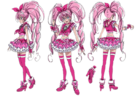 Suite Pretty Cure Cure Melody pose