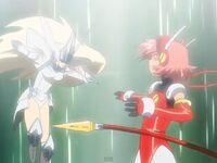 Angelic Layer Hikaru vs Athena
