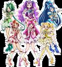 Precure All Stars Yes! Pretty Cure 5 GoGo! pose