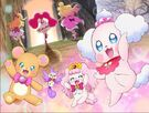 Precure Dream Stars! The Movie The Mascots and Team Pinks