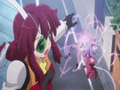 Fight Ippatsu! Juuden-chan!! Allesta using her charger5