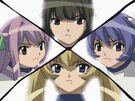 Magikano Ayumi, Maika, Yuri and Marin2