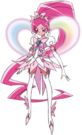 Heartcatch Pretty Cure! Cure Blossom Super Silhouette pose2
