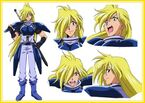 Slayers Gourry pose