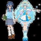 Yakushiji Saaya uniform Ange infobox