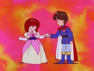 Hana no Mahou Tsukai Mary Bell Yuuri transformed into a Princess