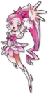 Heartcatch Pretty Cure! Cure Blossom DS pose