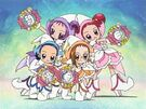 Ojamajo Doremi Sharp Royal Patraine Group transformation pose (angry)