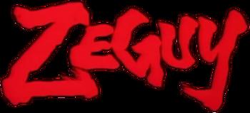 Unkai no Meikyuu Zeguy logo