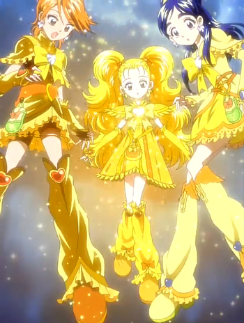 Futarti wa Pretty Cure Max Heart Golden Cures