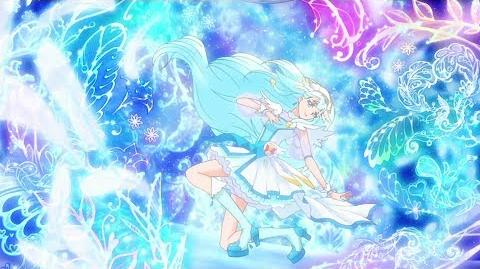 1080p Cure Ange Transformation Heart Kiratto!