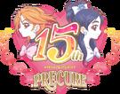Precure 15th anniversary v2 precure logo by ffprecurespain-dbvhz65