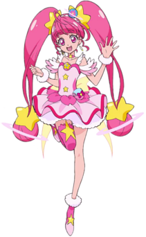 Cure Star Pose
