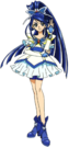 Yes! Pretty Cure 5 Cure Aqua pose3