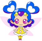 Pretty Cure Max Heart Lovelun pose