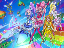 Suite Pretty Cure Suite Cures in the Opening