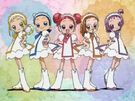 Ojamajo Doremi Motto Group Patissier transformation pose 2