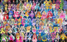 102 Pretty Cure Warriors with Fairies (Updated 2)