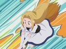 Majokko Tsukune-chan Charlotte on her broom