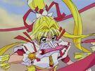 Kamikaze Kaitou Jeanne Kaitou Jeanne in her transformation (second transformation)