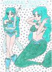 Mermaid princess michiru