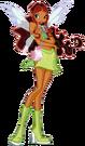 Winx Club Aisha Charmix pose