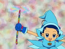 Ojamajo Doremi Aiko using her spell