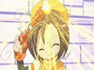 Sasami Mahou Shoujo Club Makoto using her magic15