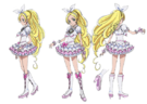 Suite Pretty Cure Cure Rhythm pose