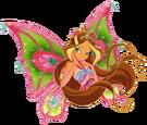 Winx Club Flora Enchantix pose6