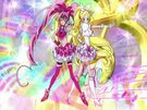 Suite Pretty Cure Cure Melody and Rhythm speech