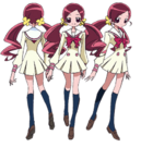 Heartcatch Pretty Cure! Tsubomi pose