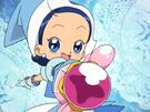 Ojamajo Doremi Motto Aiko using her spell