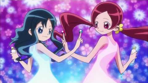 Heartcatch Pretty Cure! - Dual transformation