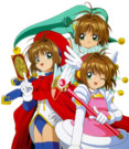 Card Captor Sakura Sakura pose5