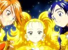 Futari wa Pretty Cure Max Heart The Movie Music Line Art 4