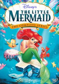 The Little Mermaid - The Complete Series - Custom DVD Cover 1 001