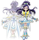 Pretty Cure Max Heart Movie2 Phoenix Cure White profile