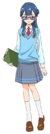 Yakushiji Saaya uniform Asahi