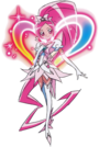 Heartcatch Pretty Cure! Cure Blossom Super Silhouette pose3