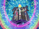 Sasami Mahou Shoujo Club Sasami, Misao, Makoto, Tsukasa and Anri using their magic (opening)