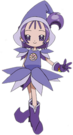 Ojamajo Doremi Onpu witch pose