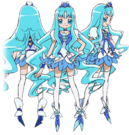 Heartcatch Pretty Cure! Cure Marine pose