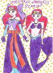 Mermaid princess scarlet