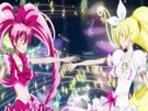 Suite Pretty Cure Cure Melody and Rhythm in their transformation