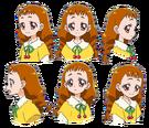 Kira Kira Pretty Cure Ala Mode Himari faces