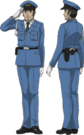 Moetan Officer pose